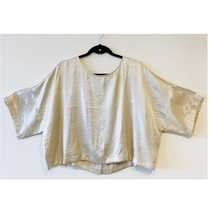 👚4/$30👚 Forever 21 Champagne Woven Blouse